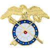 14988 - Army Quartermaster Cutout Insignia Pin