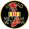 15284 - My Dad Is A Vietnam Veteran Pin
