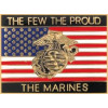 15291 - The Few The Proud The Marines Pin