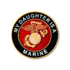 15352 - My Daughter Is A Marine Insignia Pin