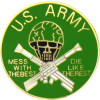 15702 - United States Army Mess With The Best Pin