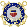 15746 - United States Coast Guard 1790 Insignia Pin