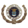 15776 - United States Air Force Emblem with Wreath Pin