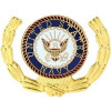 15777 - United States Navy Insignia with Wreath Pin