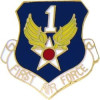 15949 - 1st Air Force Pin