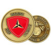 22309 - 3rd Marine Division Challenge Coin