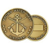 22320 - United States Navy Brown Water Navy Vietnam Challenge Coin