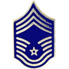 250622 - Air force Chief Master Sergeant E-9 pin - tie tac