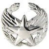 250770 - Air Force Commander Badge Bright silver