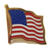 258000 - PIN-US WAVY FLAG
