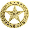 40070GL - Texas Ranger Replica Badge