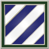 40105 - 3rd Infantry Division Combat Service Badge