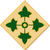 40107 - 4th Infantry Division Combat Service Badge
