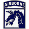 40110 - 18th Airborne Division Combat Service Badge
