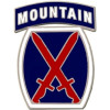 40112 - 10th Mountain Division Combat Service Badge