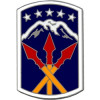 40128 - 593rd Sustainment Brigade Combat Service Badge