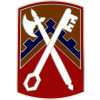 40129 - 16th Sustainment Brigade Combat Service Badge