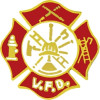 6606 - Volunteer Fire Department (VFD) Insignia Pin