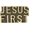 6825 - Jesus First Script Pin