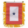 87072 - 1 Blue Star Mini Banner