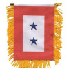 87073 - 2 Blue Star Mini Banner