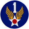 FL1001 - 1st Air Force Small Patch
