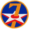 FL1007 - 7th Air Force Small Patch