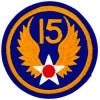 FL1015 - 15th Air Force Small Patch