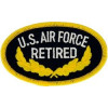 FL1194 - US Air Force Retired Small Patch