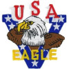FL1199 - USA Eagle Small Patch