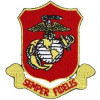 FL1555 - US Marine Corps Semper Fi Small Patch
