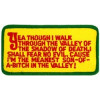 FL1573 - Yea Thou I Walk Small Patch