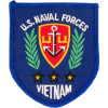 FL1901 - US Naval Forces Vietnam Veteran Small Patch