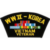FLB1356 - WW II/Korea/ Vietnam Black Veteran