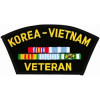 FLB1358 - Korea/Vietnam Veteran Black Patch