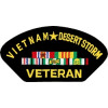 FLB1423 - Vietnam Desert Storm Veteran Black Patch