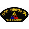 "FLB1436 - 1st Armored Division with ""Old Ironsides"" Black Patch"
