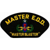 FLB1465 - Explosive Ordinance Disposal (EOD) Master Black Patch