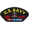 FLB1499 - US Navy Korea Veteran Black Patch