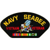 FLB1523 - US Navy Seabee Vietnam Veteran Black Patch