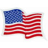 FLB1558 - US Flag Colored Patch