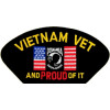 FLB1576 - Vietnam Vet and Proud of It Black Patch