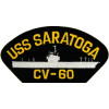 FLB1609 - USS Saratoga CV-60 Black Patch