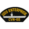 FLB1612 - USS Enterprise CVN-65 Black Patch