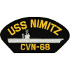 FLB1615 - USS Nimitz CVN-68 Black Patch