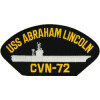 FLB1619 - USS Abraham Lincoln CVN-72 Black Patch