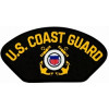FLB1643 - US Coast Guard Insignia Black Patch