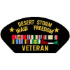FLB1756 - Desert Storm / Iraqi Freedom Veteran Black Patch