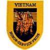 FLB1765 - Vietnam Honor Service Pride Black Patch