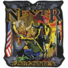 "FLC1861 - Never Forgotten Back Patch (4.5"" x 5"")"
